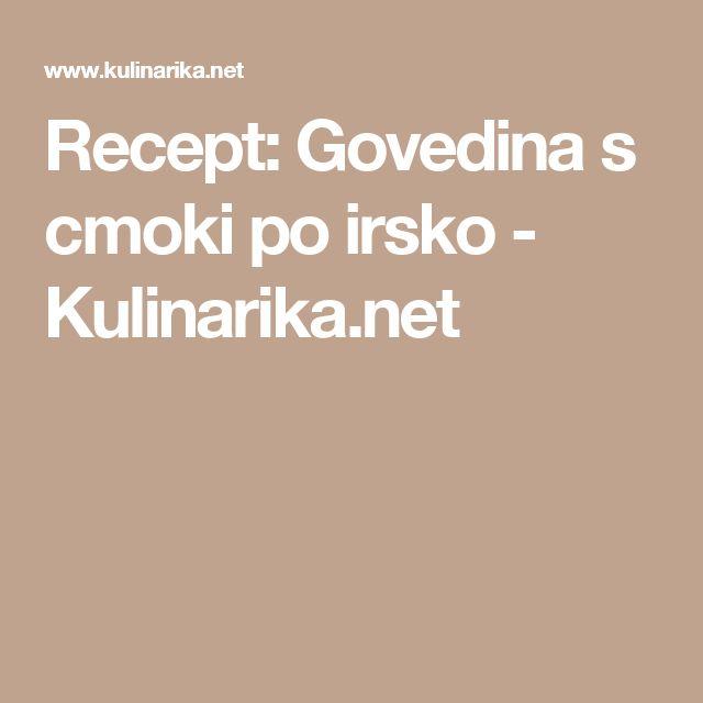 Recept: Govedina s cmoki po irsko - Kulinarika.net
