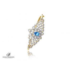 Lavender Diamond Bracelet