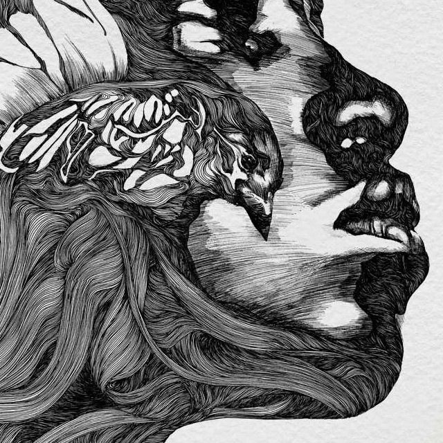 By illustrator Gabriel Moreno. Available as prints. He also has a facebook page.