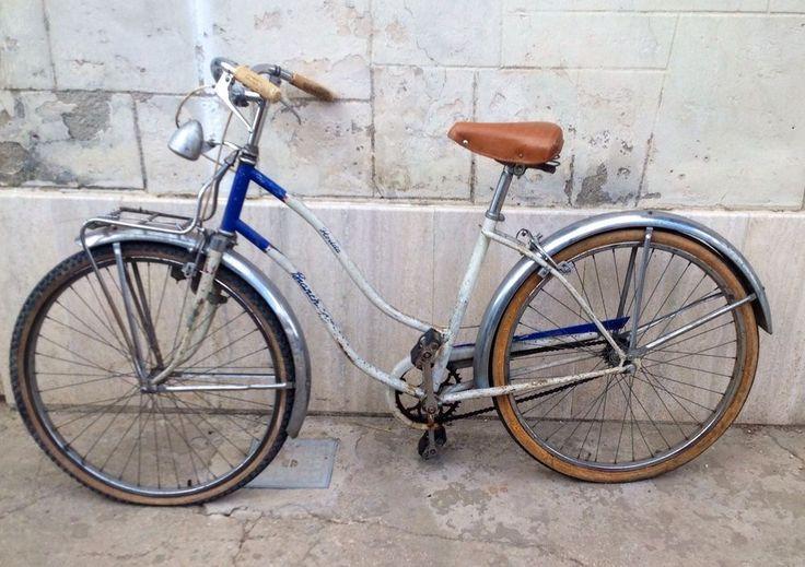 bici bicicletta bianchi florida donna bianca e celeste