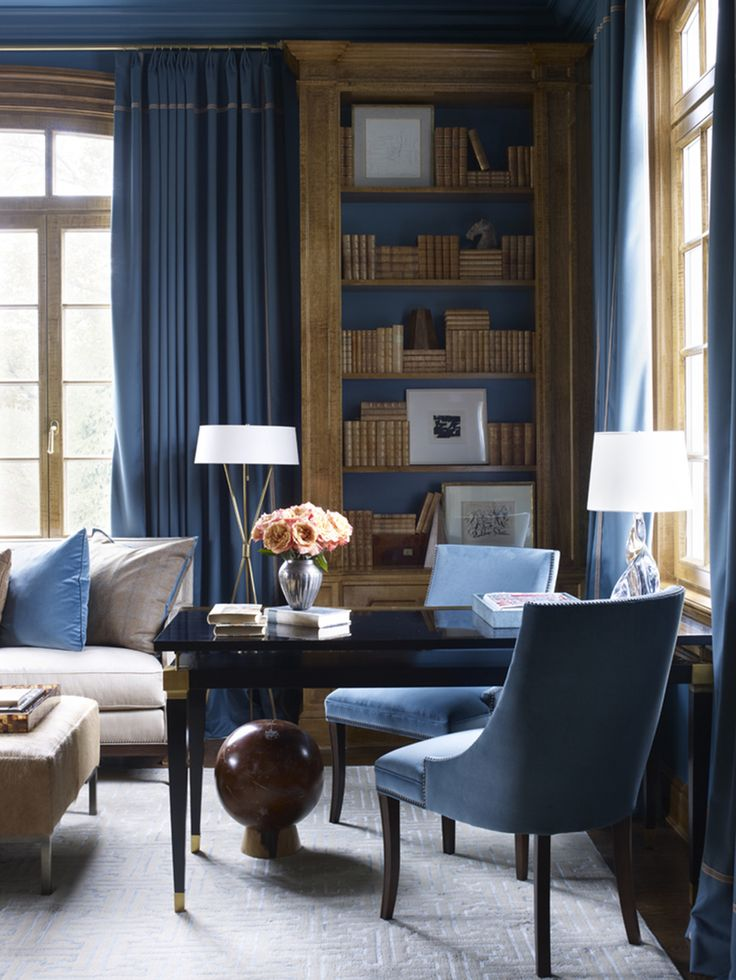 Superb French Office And Study In Greenwich, CT By Suzanne Kasler Interiors