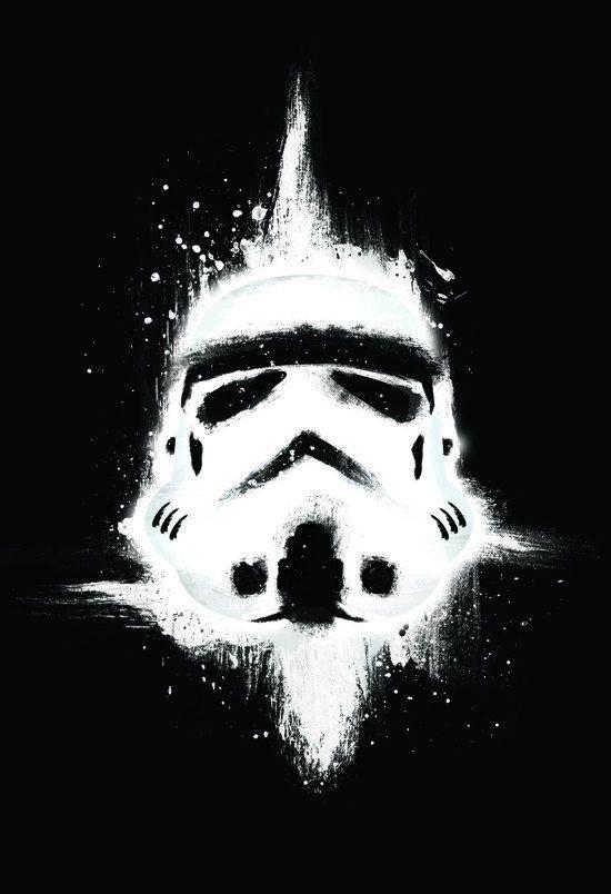 Storm Trooper Star Wars Pop Art Art Print Art by CiaranMonaghan