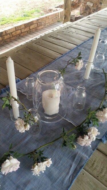 My idea of a summer braai table setting