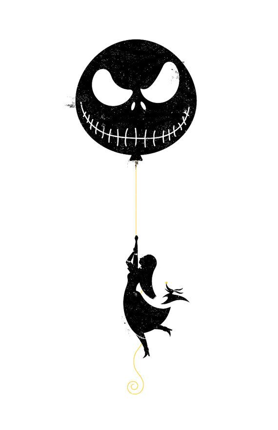 Nightmare before Christmas... This would make a cute tat...