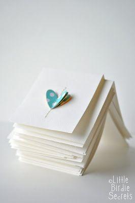 love notes {easy note cards} | Little Birdie Secrets