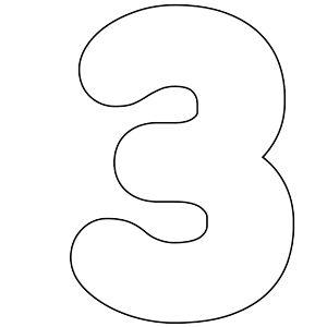 The 25+ best Free printable numbers ideas on Pinterest
