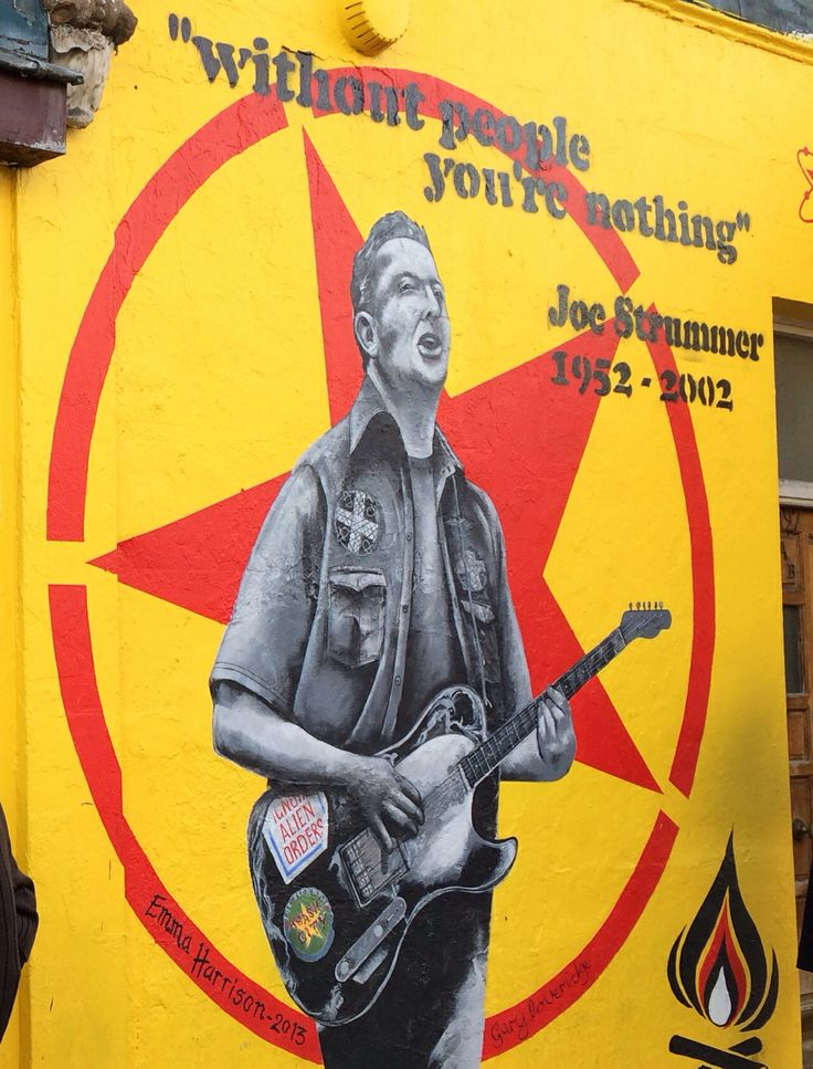 Portobello. Street art . London