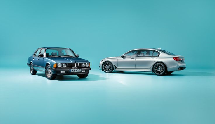 BMW marks four decades of the 7 Series.
