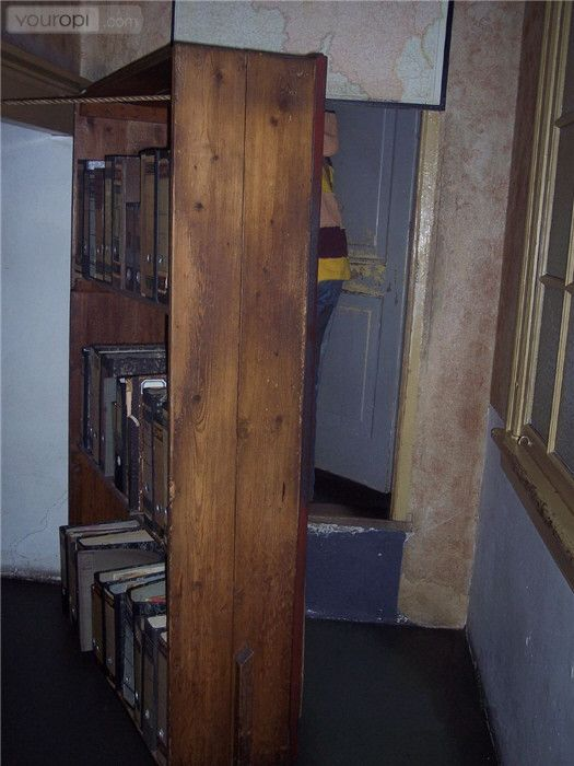 Anne Frank Haus, Amsterdam.  This hid the secret doorway.  I could have stayed all day.