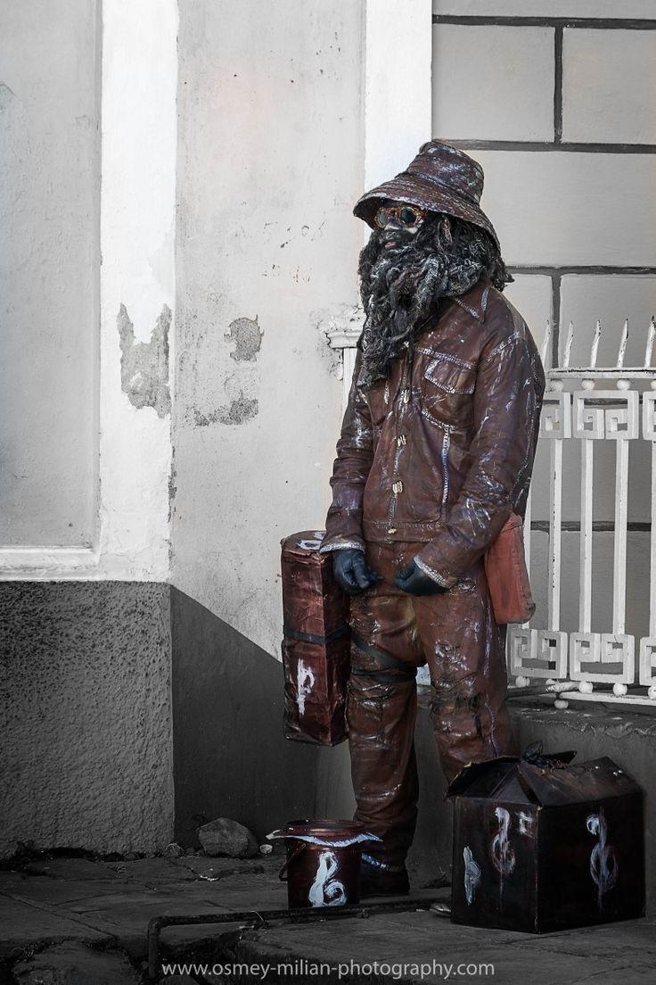Human Statue in Trinidad, Cuba. #photography #photo #statue #humanstatue #fineart #fineartphotography