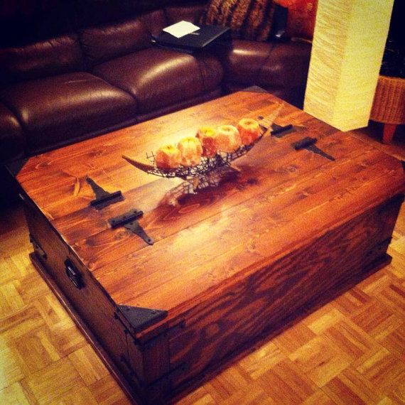 Storage Trunk Coffee Table. By Rustikink On Etsy, $575.00