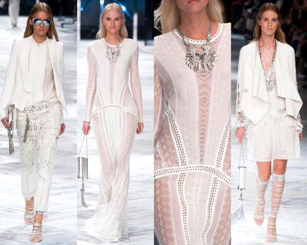 roberto cavalli milan fashion week outfit white vestidos