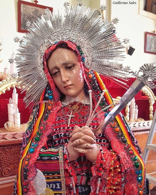 Santisima Virgen De Dolores Totonicapan 50avo Aniversario De La Hermandad El Pasado 27 De Mayo 2018 I Love You Mother Mother Mary Holy Mary