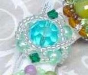Δαχτυλίδια πλεκτά με χάντρες & πέρλες MIX Colours Tyrkoyaz & Kry