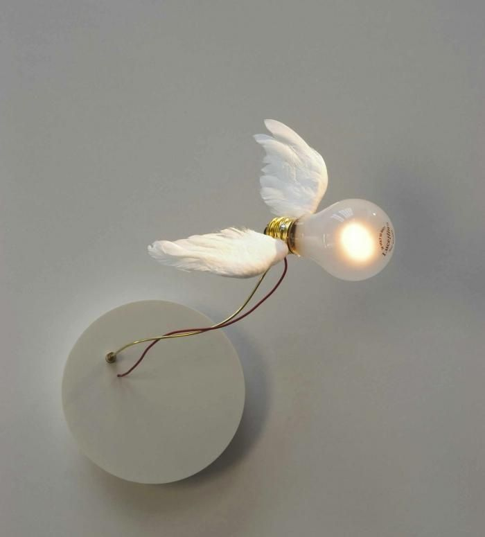 Me thinks I've pinned this little pretty already!!(Ingo Maurer Lucellino NT Wall Sconce | Remodelista, August 2012