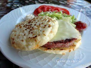 Caprichos sin gluten: Pan de hamburguesas en el micro