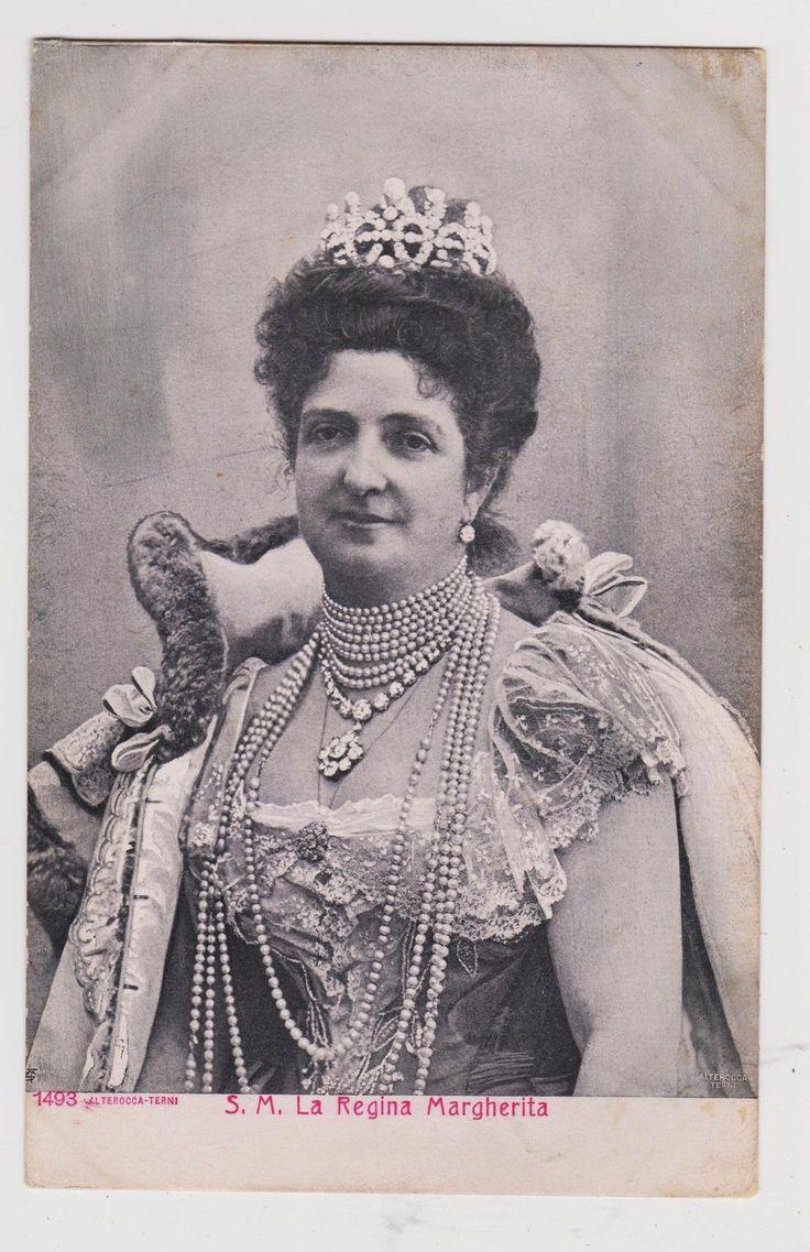 Queen Margherita of Italy Wife of Umberto I Mother of Vict Emmanuel III