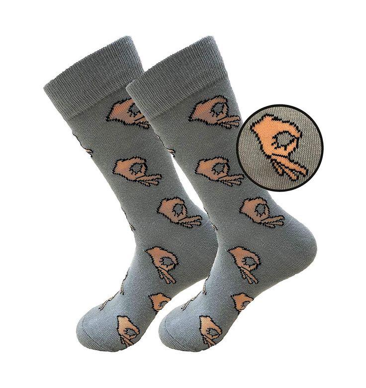 Balanced Co. Circle Game Meme Dress Socks Funny Socks Crazy Socks Casual Cotton Crew Socks