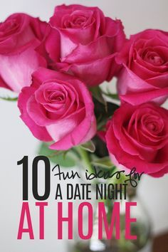 10 Fun Ideas for a Date Night at Home