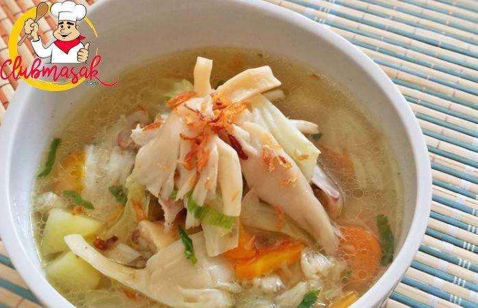 Sup Jamur Tiram Club Masak Sup Jamur Resep Jamur Masakan Indonesia