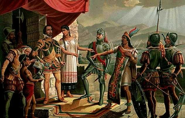 On November 16, 1532, Francisco Pizarro, the Spanish explorer and conquistador, springs a trap on the Incan emperor, Atahualpa. With fewer than 200 men against several thousand, Pizarro lures Atahualpa to a feast in the emperor's honor and then opens fire on the unarmed Incans. Pizarro's men massacre the Incans and capture Atahualpa, forcing him to convert to Christianity before eventually executing him by strangulation on 29 August 1533.