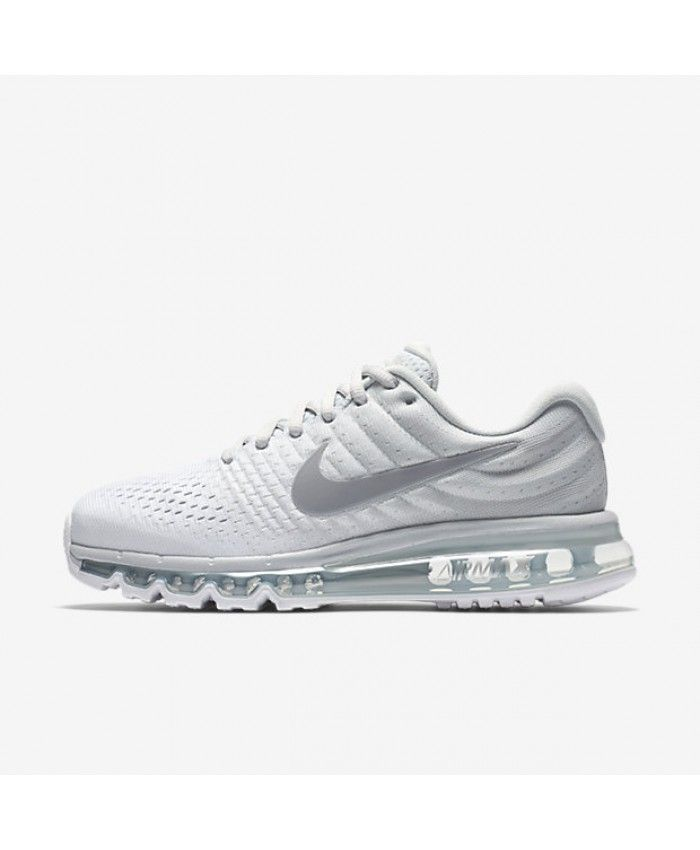 timeless design 3ab02 19562 Nike Air Max 2017 White Pure Platinum Off-White Wolf Grey 849560-009 ...