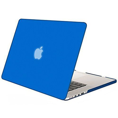 Mosiso For Macbook Pro 15 with Retina Display Model A1398 Rubberized Plastic Matte Hard Protective case Laptop Sleeve Cover