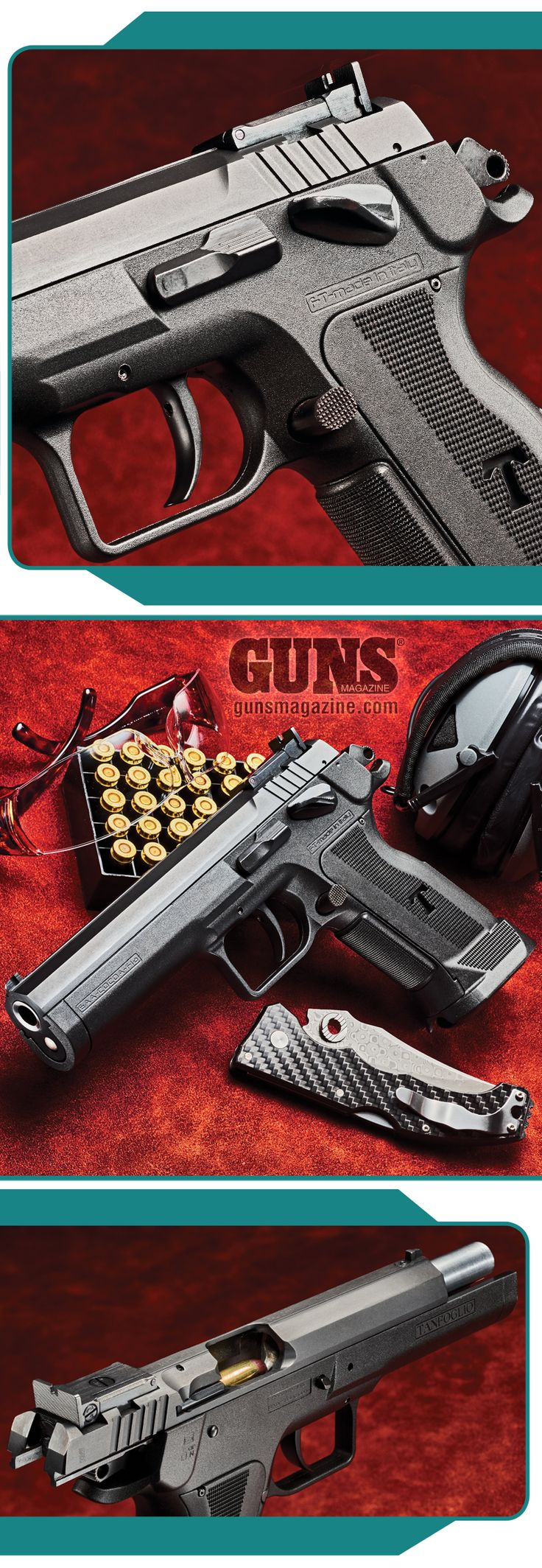 No Limits   By John Taffin   EAA's 10mm Witness P Match Joins The Pantheon Of Perfect Packin' Pistols   Tanfoglio's new Polymer Witness P Match 10mm now joins the steel-framed one offered by EAA (European American Armory) with all the extras shooters wanted.   © GUNS Magazine 2018