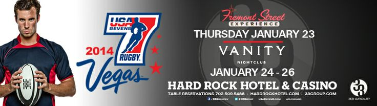 """USA Sevens International Rugby Tournament Tickets! Use promo code """"rugby33″ & SAVE 50%!  Click Here to get discount tickets!  For VIP Entry and Tables at #VanityNightclub please contact #RoyalVegasTours at (702) 449 8559  #USASevensRugby  #VegasRugby #Rugby"""
