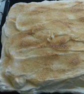 Apfelmus - Kuchen vom Blech