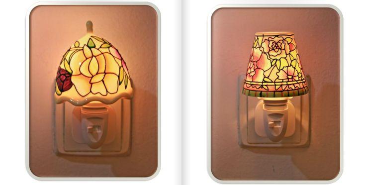 punto de luz decorativo y difusor de aromas