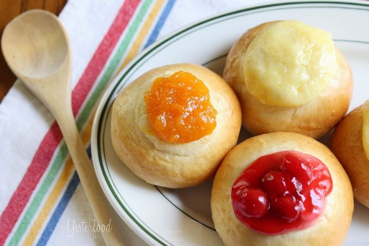 Kolaches (Czech Sweet Buns)