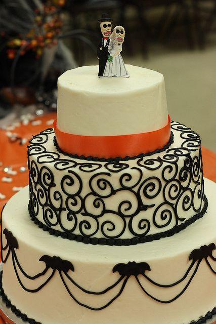 halloween wedding cakes | Halloween wedding cake | Flickr - Photo Sharing!: