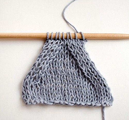 How to knit symmetric decreases when decreasing on