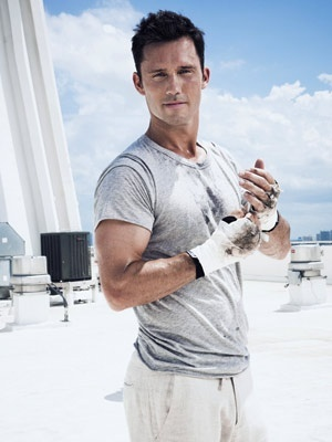 Burn Notice, love this picture, he looks so content
