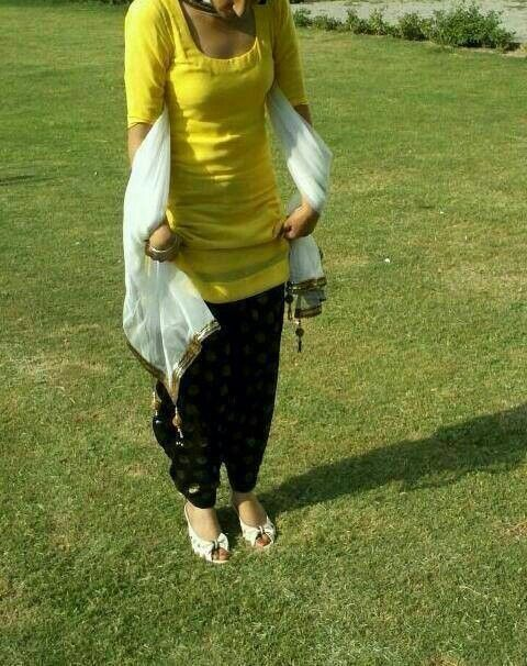 Punjabi suit...