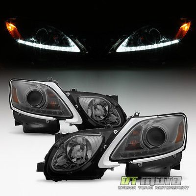 2006-2011 Lexus GS300 GS350 GS430 HID Xenon Bright LED DRL Projector Headlights