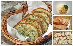 Fantastická večera pre celú rodinu. Navyše, na jej prípravu môžete využiť aj starší chlebík, ktorý práve potrebujete zužitkovať. Zakončite pohodový víkend skvelým jedlom súžasnou vôňou cesnaku, masla abyliniek. Potrebujeme: ½ šálku masla 3 hlávky cesnaku 2 lyžice olivového oleja 1 bochník chleba 2 lyžice čerstvej petržlenovej vňate 1 šálku strúhaného syra Soľ, korenie podľa chuti...