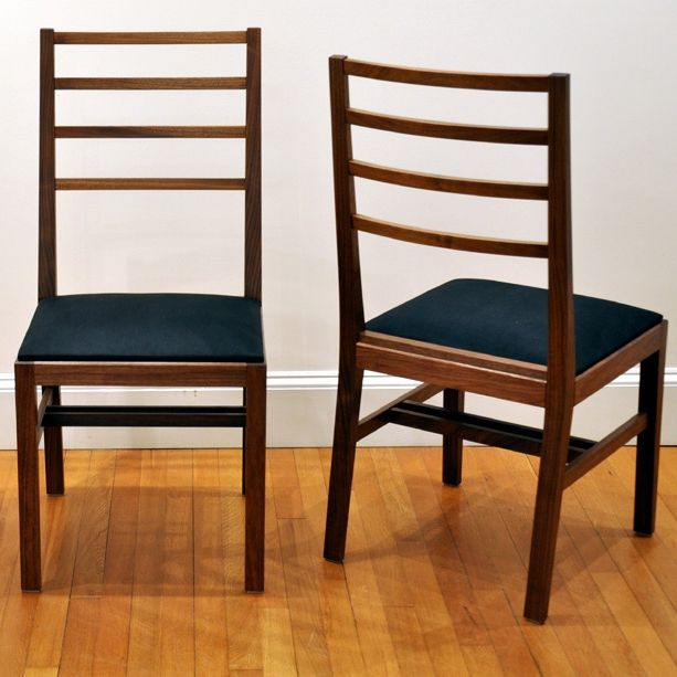 Ladderback Chair By Dorset Custom Furniture, A Member Of The Guild Of  Vermont Furniture Makers.