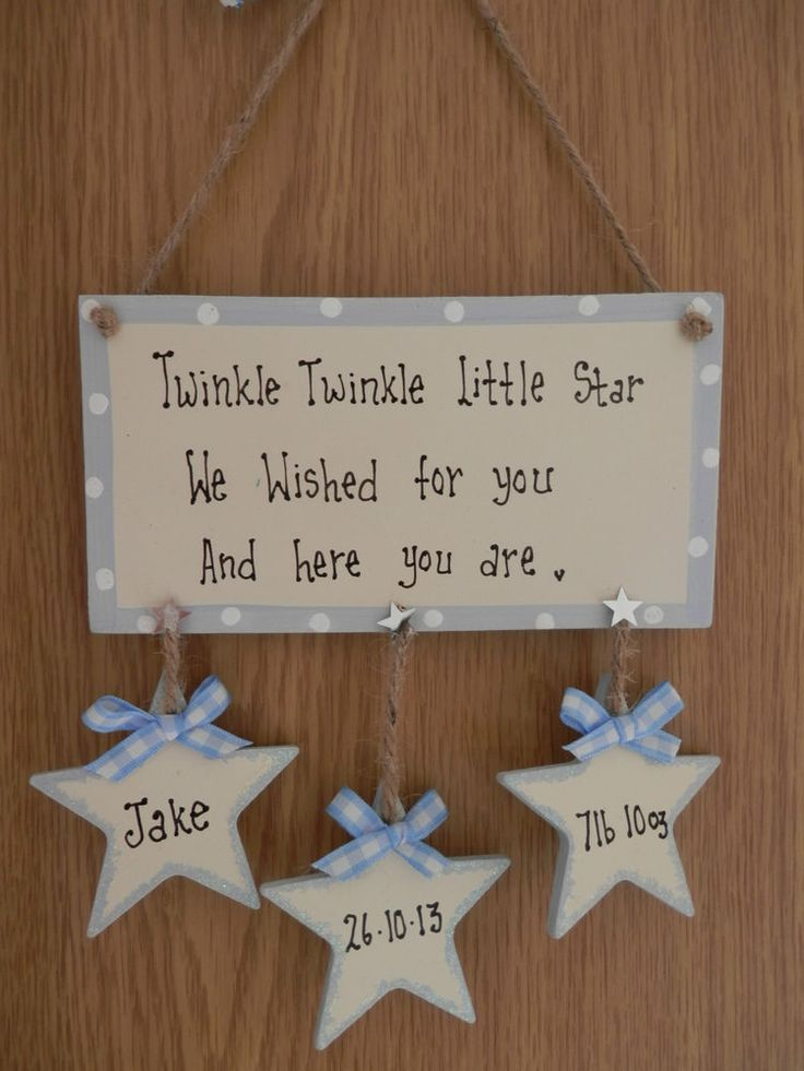 Personalised New Baby,Boy or Girl, Birth, Christening, gift plaque sign
