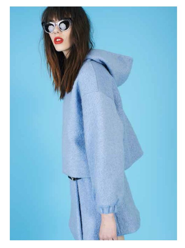 SGC melting hood and audrey wrap skirt