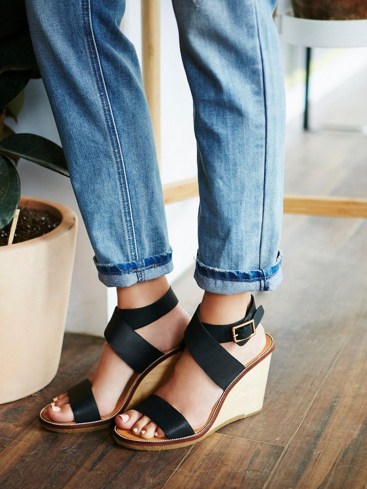 Dolce Vita Coral Coast Wedge at Free People Clothing Boutique