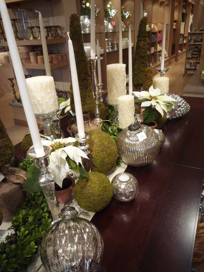 Tablescape at Pottery Barn