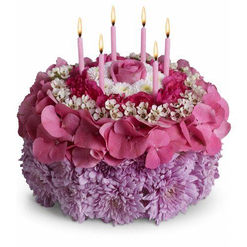 Happy Birthday Flowers Cake | Happy Birthday, Dawn! – DSH Mini-Reviews | Olfactoria's Travels