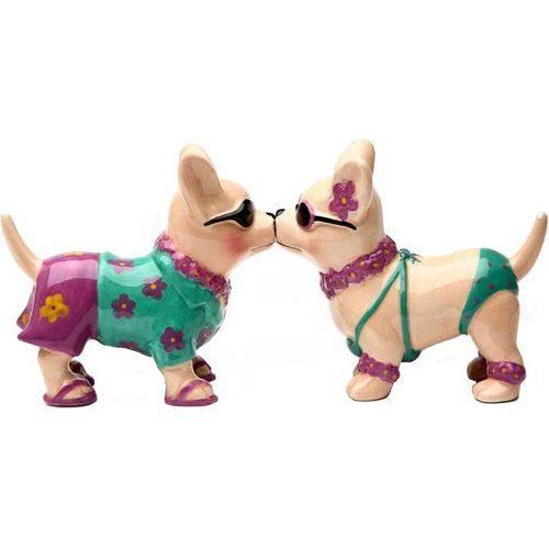Chihuahua Beach Style 3 1/2'' tall Magnetic Salt and Pepper Shakers by PT, http://www.amazon.com/dp/B004RP8GQO/ref=cm_sw_r_pi_dp_h1P9rb04X74KN