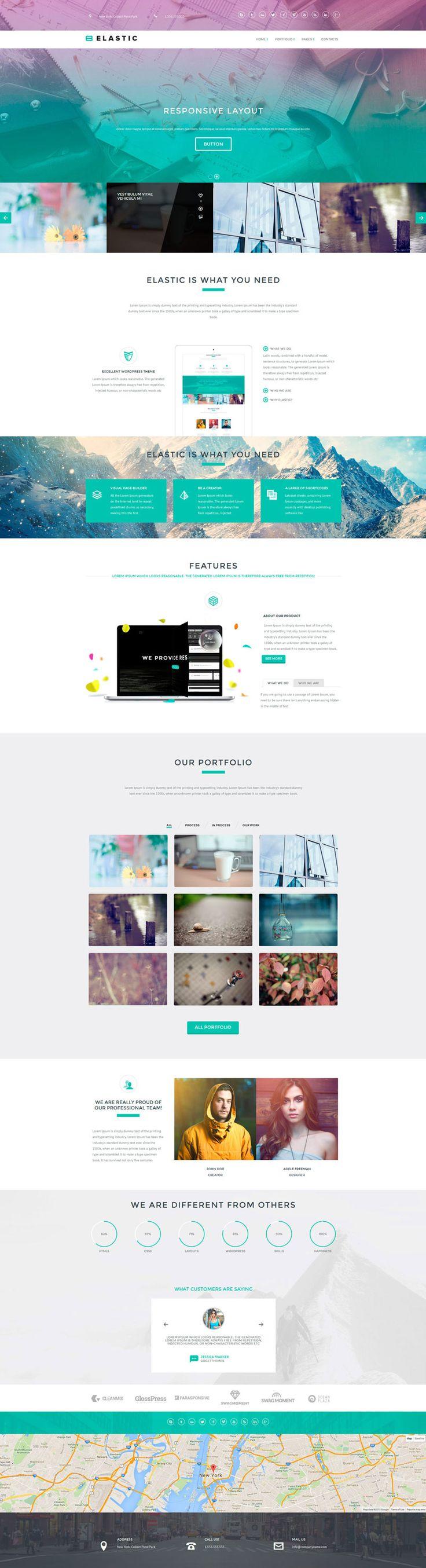 Elastic — Business Theme
