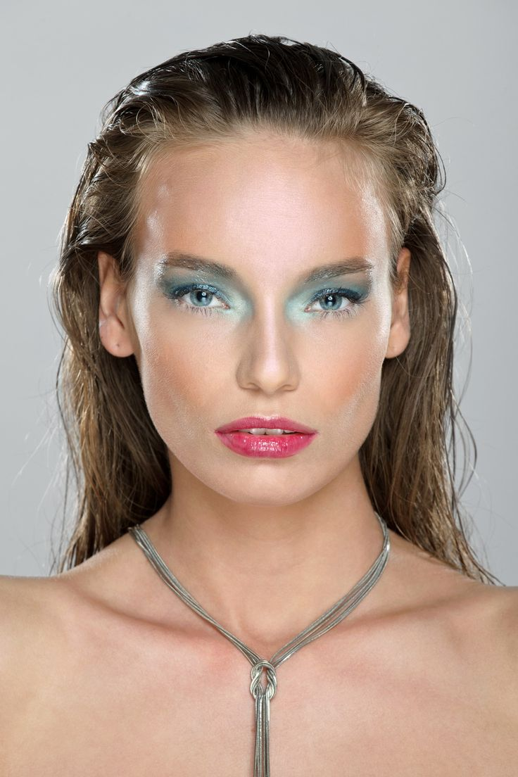 Our beauty shoot inspired by water. Photo: Gergely Graff | Makeup: Dora Graff