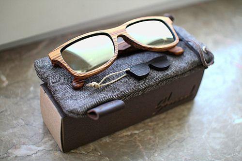 wooden sunglasses!
