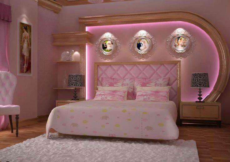 Pembe yatak odası dekorasyonu #yatakodası #dekor