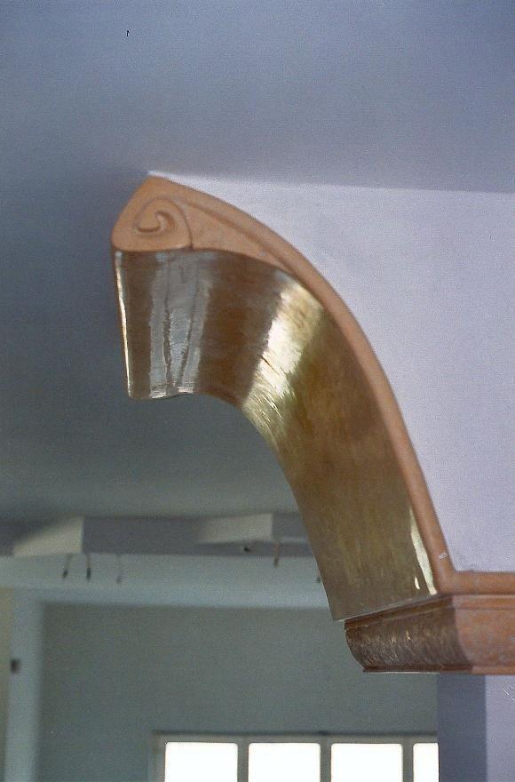 detal -scagliola